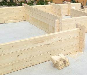 fabricant chalets bois massifs madrier et double madrier. Black Bedroom Furniture Sets. Home Design Ideas